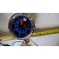 fuel economi meter 12v multi color