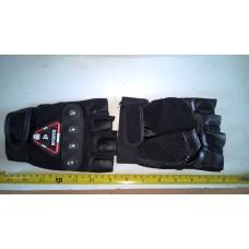 set gloves  half finger size l