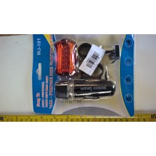 set bicycle lights frond rear