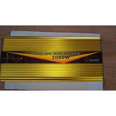 inverter 12v to 2000w pure sine wave with digital screen