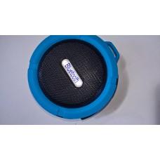 bluetooth speaker with sd card waterproof 5w blue