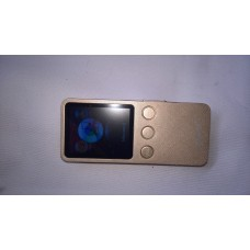 mp3 player with speaker  sd card gold color
